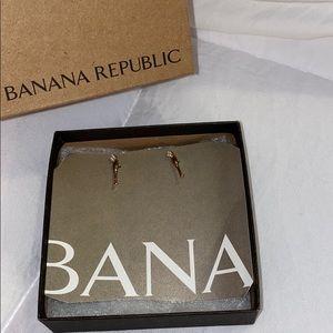 Banana Republic Champagne flute earrings